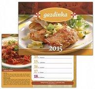 Gazdinka 2015 Nástenný a stolový kalendár