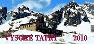 Vysoké Tatry 2010 - stolový kalendár
