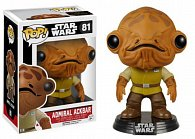 Funko POP Star Wars: EP7 - Admiral Ackbar