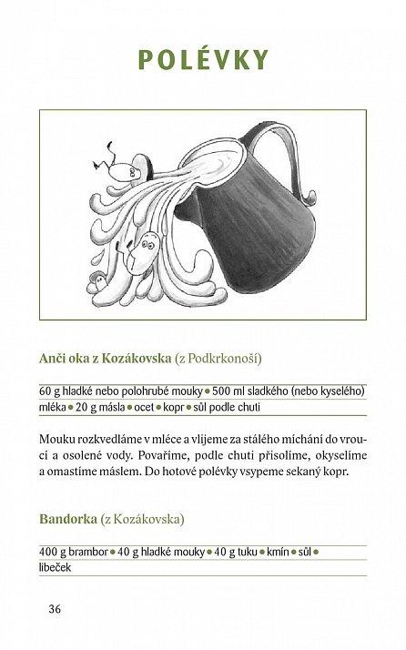 Náhled Krajové speciality: Krkonošská a podkrkonošská kuchyně