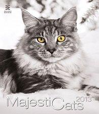 Kalendář nástěnný 2013 - Majestic Cats