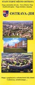 Ostrava jih Mapa městského obvodu