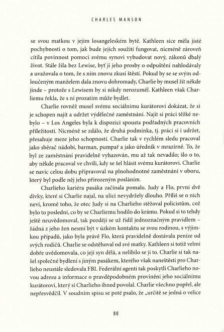 Náhled Charles Manson - Život a doba