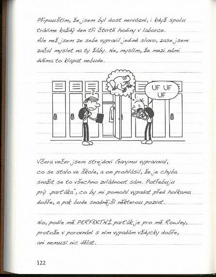 Náhled Deník malého poseroutky 7 - Páté kolo u vozu