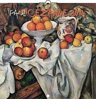 Kalendář 2014 - Paul Cézanne - nástěnný poznámkový (ČES, SLO, MAĎ, POL, RUS, ANG)