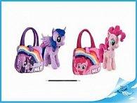 """Poník 25cm plyšový s taškou """"My Little Pony"""" 2druhy 0m+"""