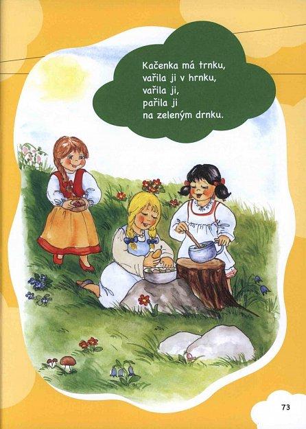 Náhled Nejoblíbenější české říkadla