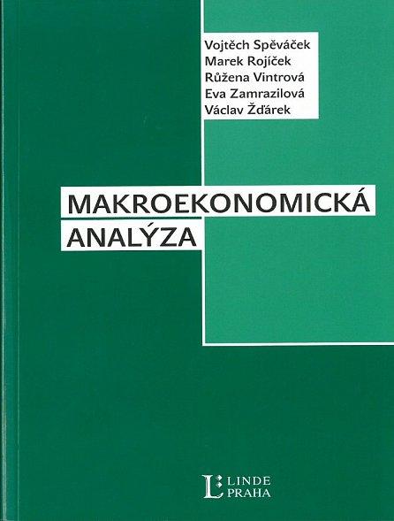 Náhled Makroekonomická analýza