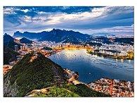 Puzzle Rio de Janeiro Brazílie 2000 dílků