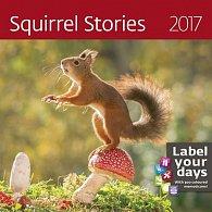Kalendář nástěnný 2017 - Squirrel Storius