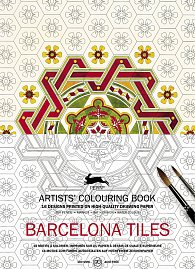 Barcelona Tiles (Artists' Colouring Book)