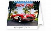 Kalendář stolní 2016 - Auta Praktik,  16,5 x 13 cm