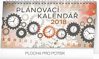 Kalendář stolní 2018 - Plánovací, 25 x 12,5 cm