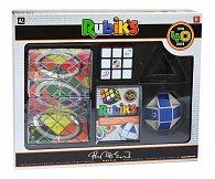 Sada hlavolamů od Rubika (3x3 kostka, Magic, Had)