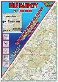Bílé Karpaty Šátek s mapou