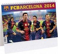FCBarcelona 2014 - stolní kalendář