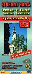 Střední Haná 1:75000  Olomoucko, Prostějovsko, Přerovsko, Kroměřížsko