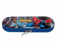Školní penál kovový na zip Spiderman