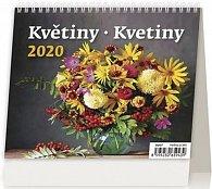 Kalendář stolní 2020 - MiniMax Květiny/Kvetiny