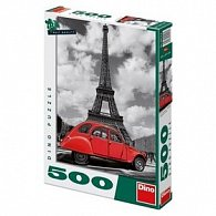 Puzzle Citroën u Eiffelovky