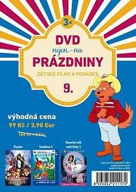 DVD nejen na Prázdniny 9. - Dětské filmy a pohádky - 3 DVD