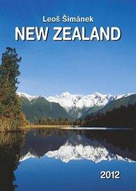 Kalenář nástěnný 2012 - Nový Zéland Leoš Šimánek, 33 x 46 cm