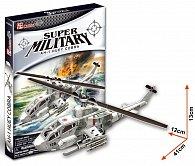 Puzzle 3D Vrtulník AH1 - 67 dílků