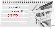 Kalendář 2013 stolní - Plánovací, 25 x 12,5 cm