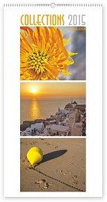 Kalendář 2015 - Collections Exclusive Martha Jensen - nástěnný s prodlouženými zády
