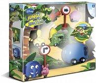 Jungle Junction sada  5 figurek s pozadím