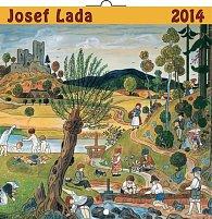 Kalendář 2014 - Josef Lada Léto - nástěnný poznámkový