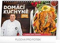 Kalendář stolní 2018 - Domácí kuchyně, 23,1 x 14,5 cm