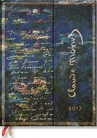 Diář Monet (Water Lilies), LettertoMorisot 2017 HOR