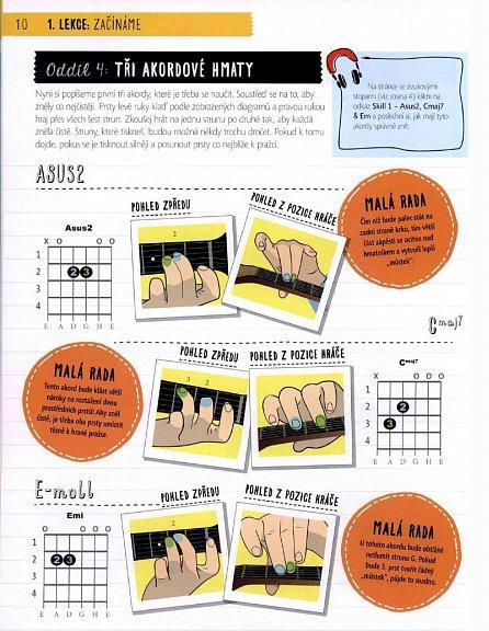 Náhled Jak se naučit hrát na kytaru v 10 lekcích