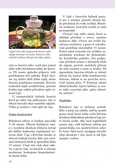 Náhled Čaje z bylinek a ovoce
