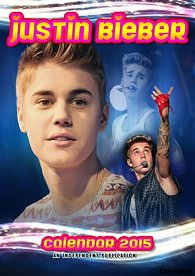 Kalendář 2015 - Justin Bieber (297x420)