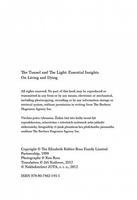Náhled Světlo na konci tunelu - Úvahy o životě a umírání