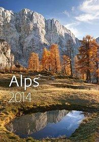 Kalendář 2014 - Alps - nástěnný