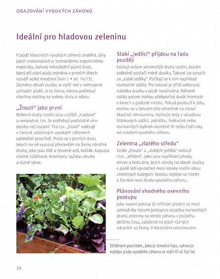 Náhled Vysoké záhony - Chytře zahradničit a bohatě sklízet