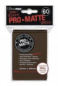 UltraPRO: 60 DP PRO Matte obaly malé  - hnědá