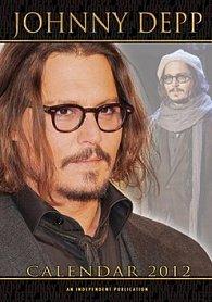 Kalendář 2012 - Johnny Depp