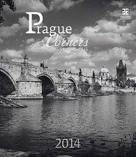 Kalendář 2014 - Prague Corners - nástěnný