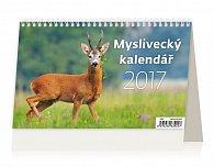 Kalendář stolní 2017 - Myslivecký kalendář
