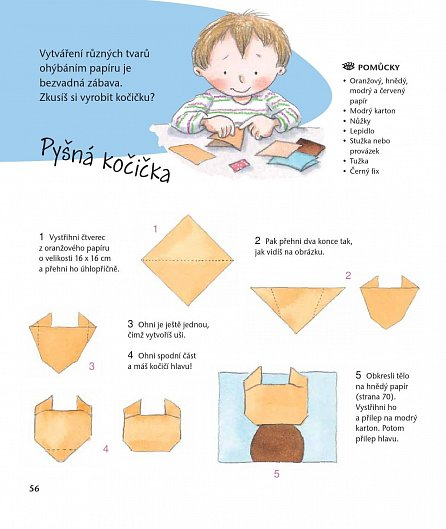 Náhled Nauč se tvořit 1 - Koláže a přáníčka z papíru