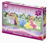 Princezny - puzzle Panoramic 150 dílků