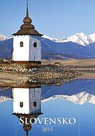 Kalendář nástěnný 2015 - Slovensko