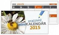Pracovný minikalendár 2015 Stolový kalendár