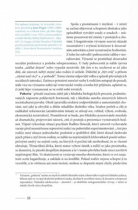 Náhled Psychický vývoj dítěte a výchova - Jak porozumět socializačním obtížím