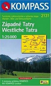 Západní Tatry 2131 NKOM 1:25T