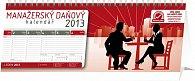 Kalendář 2013 stolní - Manažerský daňový, 33 x 12,5 cm